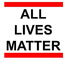 All Lives Matter by Isabella Mendiola