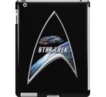 StarTrek Command Silver Signia defiant iPad Case/Skin