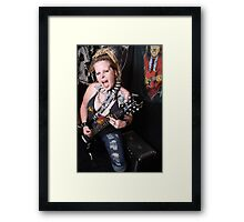 I wanna Hear U Scream Framed Print