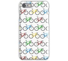 Road Bike Pattern iPhone Case/Skin
