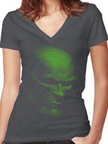 Radiation Nation Women's Fitted V-Neck T-Shirt
