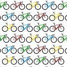 Road Bike Pattern by CongressTart