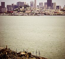 The 5-Star View from Alcatraz. by Jenny Miller