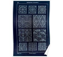 A Handbook Of Ornament With Three Hundred Plates Franz Sales Meyer 1896 0308 Repeating Ornament Various Diaper Inverted Poster