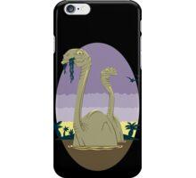 Primeval World - Brontosaurus iPhone Case/Skin