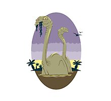Primeval World - Brontosaurus Photographic Print