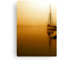 """The Yacht"" Canvas Print"
