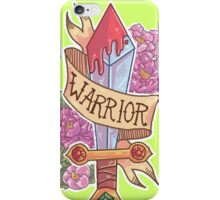 WARRIOR CLASS iPhone Case/Skin