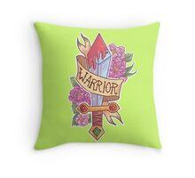 WARRIOR CLASS Throw Pillow