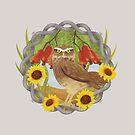 Cashew and owl by erdavid