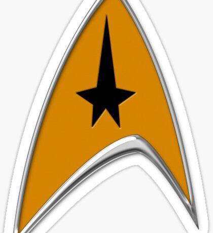 StarTrek Command Signia Chest Sticker