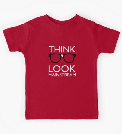 Think NERD Look MAINSTREAM Kids Tee