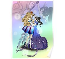 Dancing Under The Sea Poster