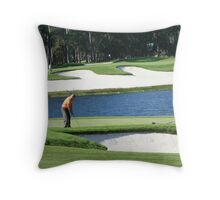 The Love of Golf  Throw Pillow