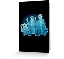 Some Hitch Hiking Ghosts Greeting Card