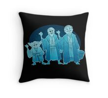 Some Hitch Hiking Ghosts Throw Pillow