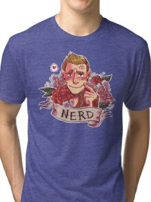 NERD NIGHT Tri-blend T-Shirt