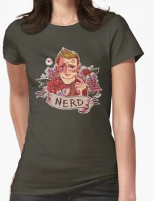 NERD NIGHT Womens Fitted T-Shirt
