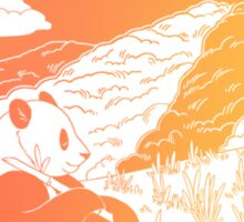 Save the Pandas! Sticker