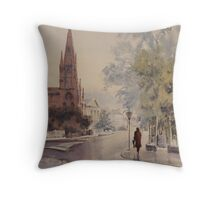 Easing Showers Throw Pillow