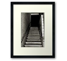 Who Knows... Framed Print