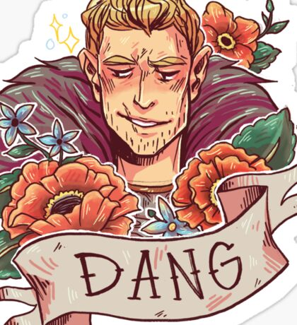 DANG Commander Sticker