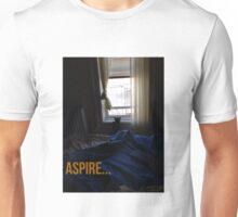 Black Cat with Aspirations Unisex T-Shirt