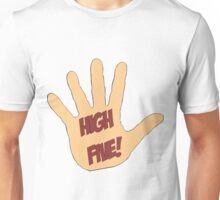 High Five! in comic style Unisex T-Shirt