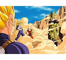 Perfect Cell Battle Photographic Print