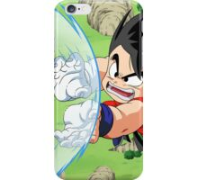 Goku battle iPhone Case/Skin