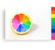 Pantone Colour Wheel Canvas Print