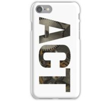 Act iPhone Case/Skin