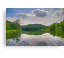 Cox Hollow Lake Canvas Print
