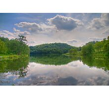 Cox Hollow Lake Photographic Print