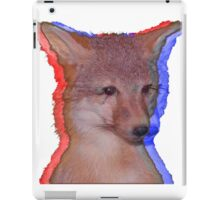 Cool Fox iPad Case/Skin