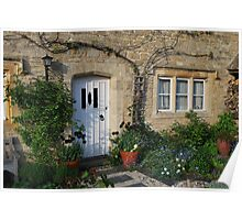 Cottage Near Stow Poster