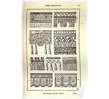 A Handbook Of Ornament With Three Hundred Plates Franz Sales Meyer 1896 0207 Free Ornaments Fringe Valence Poster