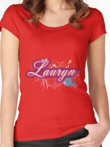 Lauryn Women's Fitted Scoop T-Shirt
