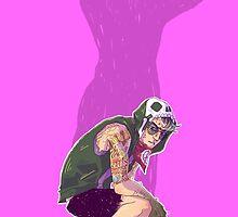 Punk!Bruce by Cara McGee