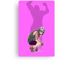 Punk!Bruce Canvas Print