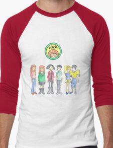 Daria and Friends Men's Baseball ¾ T-Shirt