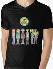 Daria and Friends Mens V-Neck T-Shirt