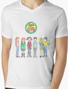 Daria and Friends Mens V-Neck T-Shirt