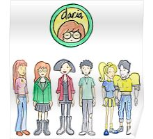 Daria and Friends Poster