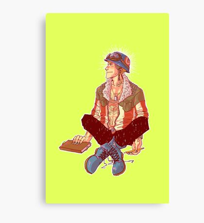 Punk!Cap Canvas Print