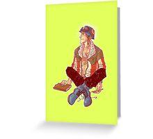 Punk!Cap Greeting Card