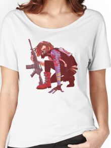 Punk!Winter Soldier Women's Relaxed Fit T-Shirt