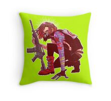 Punk!Winter Soldier Throw Pillow