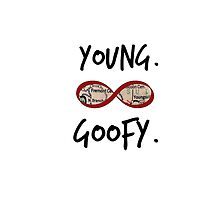 Young. Goofy. Infinite.  by SpoilersCo