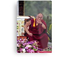 His Holiness the Dalai Lama - Washington D.C.  A.D.  2000 Metal Print
